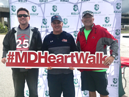 Kelly & Associates supports the American Heart Association at the 2018 Greater Maryland Heart Walk