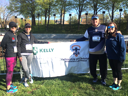 Team KELLY Runs in Support of the Brigance Brigade Foundation