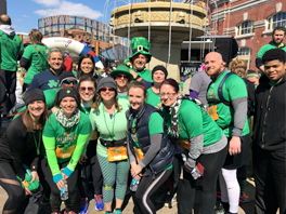 Kelly & Associates Insurance Group supports Charm City Run for their 2017 Under Armour B3 Distance Series presented by KELLY