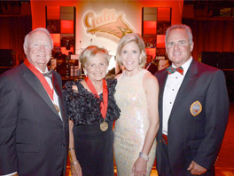 The Honorable Francis X. Kelly, Jr. and Janet Kelly honored with First Ever President's Medal from Calvert Hall