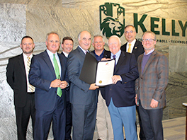 Kelly & Associates Insurance Group Presented with the Secretary's Citation of Congratulations for 40 Years of Service in Maryland