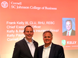 Frank Kelly III Educates Cornell University Business Students on Family Enterprises