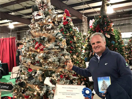 KELLY awarded First Place – Traditional Tree at Kennedy Krieger Institute's 2017 Festival of Trees