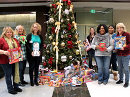 KELLY supports the Greater Chesapeake Charitable Foundation for their Annual Holiday Toy Drive