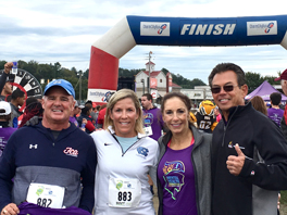 Kelly & Associates supports the John W. Brick Mental Health Foundation at the JWB 5K