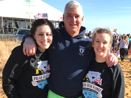 Team KELLY - The Irish Ice takes the plunge for Special Olympics