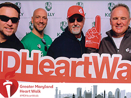 Kelly & Associates Insurance Group Steps Out in Support of the American Heart Walk