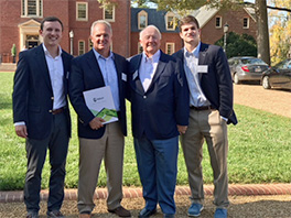 Three generations of the Kelly Family presented at the UNC Kenan-Flagler Family Business Forum