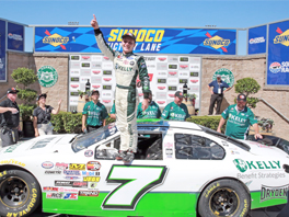 Will Rodgers brings home victory at the Sonoma NASCAR K&N Pro Series West Carneros 200