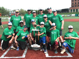 Kelly & Associates Insurance Group wins First Place at the Cal Ripken, Sr. Foundation Celebrity Softball Tournament